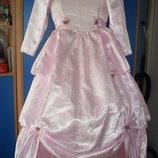 Нарядное платье -60 роз,на 8-10 лет