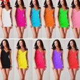 туника - платье женская пляжная