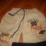 Летние шорты бриджи для мальчика 2-3,5 г. коттон 100%