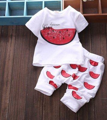 детский комплект летний Хит арбуз футболка и шорты девочки мальчика некст next
