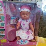 Кукла-Пупс Baby Love копия Baby Born , 43 см, BL 011 A