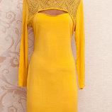 Sale - 1 1 3 Красивое яркое платьице с кружевом в области груди и на спинке Izabel, Лондон