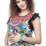 Трикотажная майка для беременных, размер М