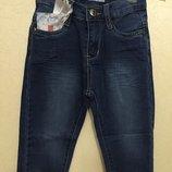 Синие джинсы с высокой талией - хит сезона