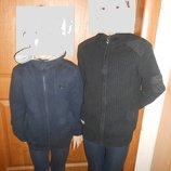 Кофты на молнии вязанные на возраст 6-8 лет