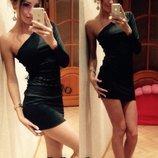 Платье Один рукавчик