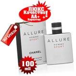 Chanel Allure homme Sport Люкс качество Аа Хорватия Качественные копии