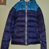 Пуховая куртка, термо пуховик , тонкий.