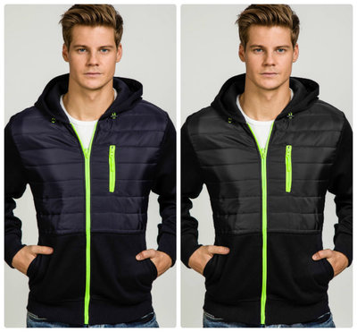 Спортивная мужская куртка ветровка