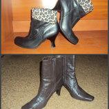 Ботинки,ботильоны коричневые, чёрные демисезонные