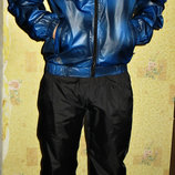Спортивный костюм Adidas плащевка синий.