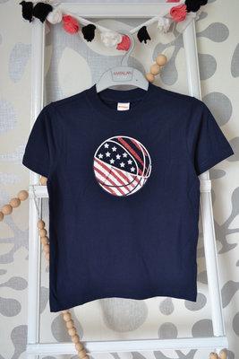 Спортивная футболка GEMBOREE, 5 лет/106-114 см, 8 лет/129-137 см