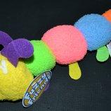 очень интересная яркая гусеница fuzzy friends новая с этикетками оригинал длина 31 см