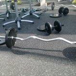 Покрытие для тренажерных залов, спортивный мат, резиновый мат.
