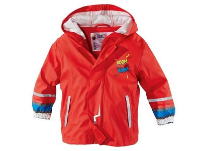 Очень яркая куртка дождевик для мальчика р.122-128 Lupilu Германия