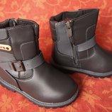 Размеры 27-29 3-6 лет . Новые детские теплые ботинки-сапожки.