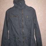 стильная женская куртка ветровка - парка Corley colection 100% коттон