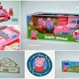 Кассовый аппарат супермаркет Peppa Pig Свинки Пеппы . Хит продаж. Новинка.
