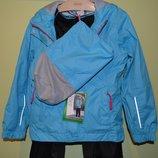 Демисезонный костюм дождевик куртка и штаны рост 128 см Германия.