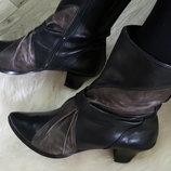 Итальянские ботинки sfratelita calsolarirecnati .100% нат.кожа 41