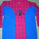 Карнавальный новогодний костюм кофта человек-паук,спайдермен