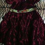 Шикарное нарядное платье для 4-5 лет