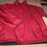 Куртка двухсторонняя, спортивная, красно/синяя,р.46-48 на рост 152-164