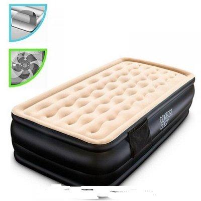 Велюровая кровать с встроенным насосом 220V. 67469. 191 97 46 см.