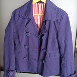 жакет, пиджак на подкладке Kapp Ahl, синий, 40, новый