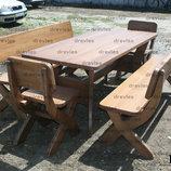 Набор мебели для дома, кафе, дачи / Нм-5