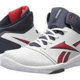 новые стильнючие высокие кроссовки Reebok. стелька 21см
