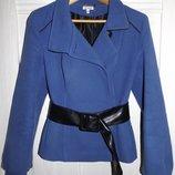 Синее пальто, полупальто
