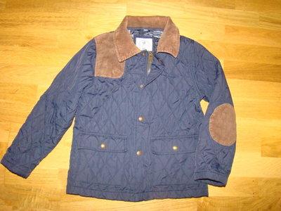 Легкая демисезонная куртка стеганка Just Kids на 9-10 лет рост 134-140 см