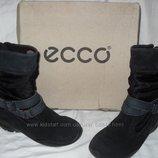 зимние ботинки от ECCO gore-tex р.28,29,30