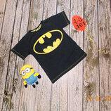 Фирменная футболка Rebel для мальчика 4-5 лет, 104-110 см