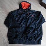 Куртка мужская рр L черная оранжевая фирменная Куртка мужская рр L черная оранжевая фирменная