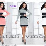 Платье трикотажное G-244 от natali vmode Цена 300 грн