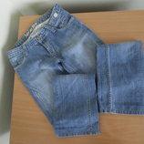 Джинсы синие W 30 L 34 голубые женские как новые Lacarino