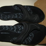 Нові Шльопанці брендові шкіряні комфортні MERRELL Оригінал Вєтнам р.36 стелька 23 см