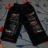 Джинсы 80-86р.