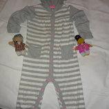 Carter's человечек,пижама,слип с капюшоном на 24 мес.