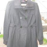 Пальто черное New Look размер наш 44-46