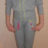 Спортивные костюмы на девочек, 134 - 164, Deloras