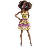 Кукла Barbie Fashionistas Doll 20 Fancy in Flowers Original Mattel Барби мулатка фашионистас