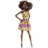 Кукла Barbie Fashionistas Doll 20 Fancy in Flowers Original Mattel Барби мулатка фашионистас