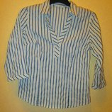 Блуза Рубашка Marks&Spenser в полоску