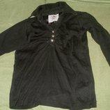 Блузка черная кнопочки стразики