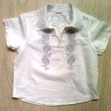 Рубашка мальчикам Некст на 3 года