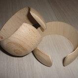 Браслет разрезанный деревянная заготовка