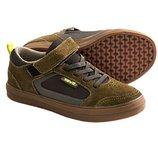 Замшевые туфли кеды Teva, стелька 17, 5см, шнурки-резинки, цена закупки.